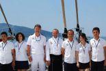 Sailing yacht crew